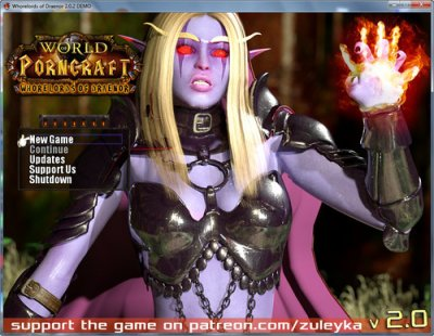 World of Porncraft – Whorelords of Draenor