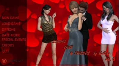 School, Love & Friends v.1.9 + guide