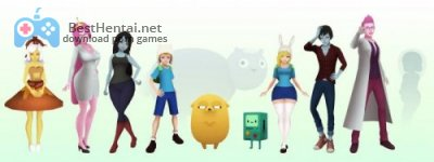 "What if ""Adventure Time"" was a 3D Anime Game Beta 8"